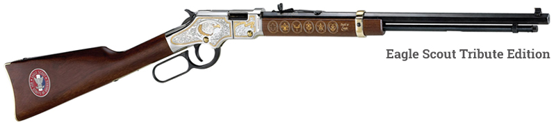 Henry Eagle Scout Tribute Edition Rifle
