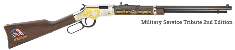 Henry Military Service Tribute Rifle
