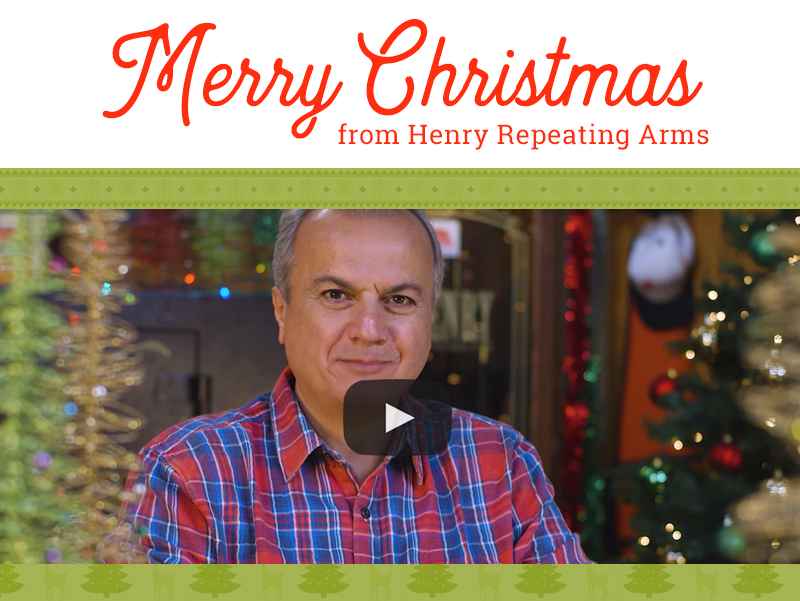 Christmas Message from Henry